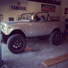 Getting the Scout prepped for summer  #scout800 #topless