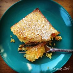 the cure for the winter doldrums--citrus-scented cornmeal cake