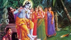 Lord Krishna and Radha are said to be the greatest lovers since ages. Here is a Radha krishna love story which describes what true love is. Radha Krishna Images, Lord Krishna Images, Radha Krishna Love, Shree Krishna, Krishna Pictures, Art Indien, Krishna Bhagwan, Radha Kishan, Krishna Leela