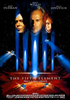 Movies over world around: THE FIFTH ELEMENT 1997