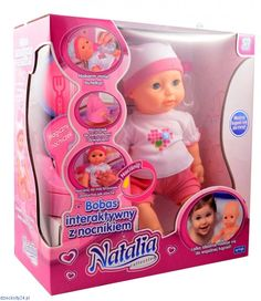 Lalka Natalia interaktywny fajny bobas pije siusia nocnik