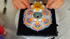 (483) RAINBOW WEEK🌈 ~ 3D printed FLOWER SHAPED CUP ~ Reverse flower dip ...