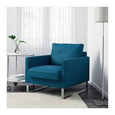 IKEA - MELLBY, Chair, Skiftebo turquoise, , The cover is easy to keep clean as it is removable and can be machine washed.The seat…