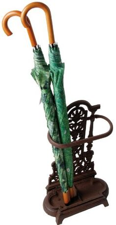 Esschert Design LH91 Cast Iron Umbrella Stand for only $73.77 You save: $11.22 (13%) + Free Shipping