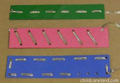 Lacing Strips - Pinned by @PediaStaff – Please Visit ht.ly/63sNtfor all our pediatric therapy pins