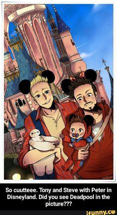 #stony, #superfamily, #deadpool, #smallpeterparker, #cute