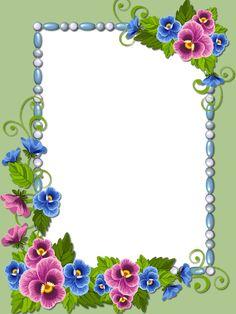 Boarder Designs, Frame Border Design, Page Borders Design, Flower Background Images, Flower Backgrounds, Flower Border Png, Boarders And Frames, Victorian Frame, Framed Wallpaper