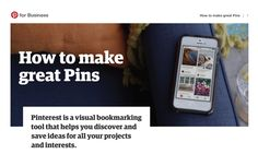 How to make great pinterest pins