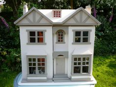 Dolls House 4: Project 2012.  Antique dolls house restored.  SOLD