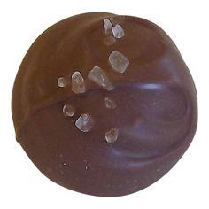 Sea Salt Caramel Chocolate Truffle