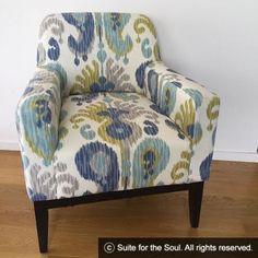 Miss Santorini 2 Restoring Old Furniture, Furniture Restoration, Santorini, Accent Chairs, Design, Home Decor, Upholstered Chairs, Decoration Home, Room Decor