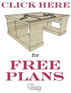 Free DIY Train Table Plans - this is a really cute make your own train activity table plan. Lots of pictures.