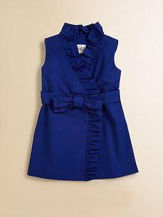 Milly Minis - Toddler's & Little Girl's Ruffled Wrap Dress - Saks.com