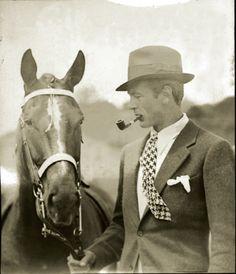 Hollywood's best horseman, Gary Cooper.
