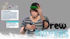 Social media addict custom trait! c:
