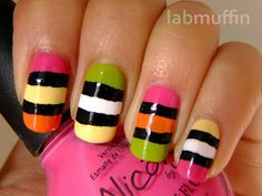 Liquorice all sorts nails!!!