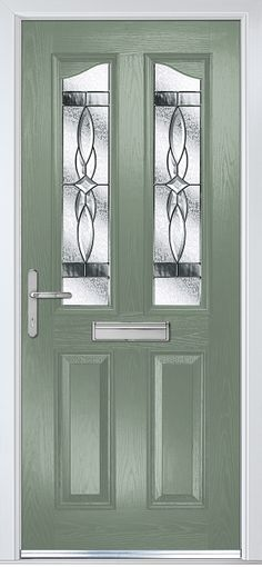 Penina in Chartwell Green with Elegance glass