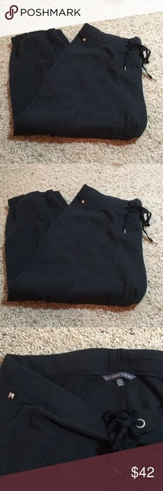 ⭐️Victoria's Secret cropped sweat pants ⭐️ So soft!!! Maybe worn once. Excellent shape! PINK Victoria's Secret Pants