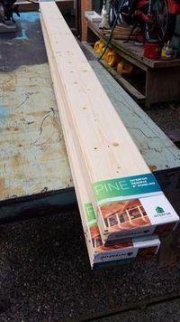 Building a Pine Door for a Sliding Barn Door Look - October 26 2019 at