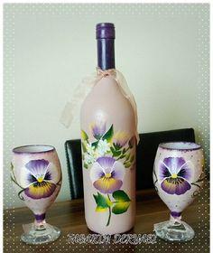 Painting Bottles, Like4like, Amazing, Instagram Posts, Artist, Home Decor, Decoration Home, Room Decor, Artists