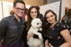 Our favourite photo from #TheCompanyofDogs @PetsPyjamas.com VIP party for @Dogs Trust. Lovely to meet you, @Lucy Watson! pic.twitter.com/6U8phfJpvP