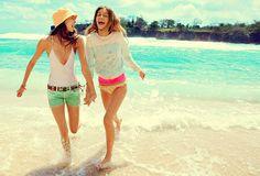 summer, bestfriend, let's go