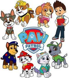 59 Best Paw Patrol Svg Images Cricut Design Silhouette