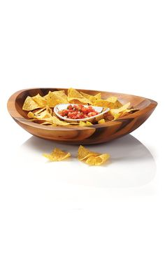 Fabulous Chip & Dip server for the big Super Bowl party.