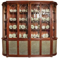 Exceptional Irish Regency Library Bookcase - Manner of Mack, Williams