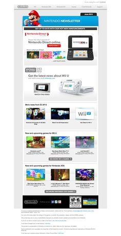 nintendo E3 2012 eDM