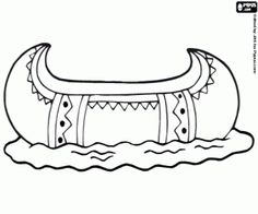 Native american Coloring pages and Indian on Pinterest