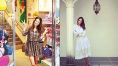 Tempo de Mulher: coluna de moda dos artistas, de Ana Maria de Sousa                         Sensualidade e romantismo bombam no look das famosas - Alessandra Ambrósio no Japão