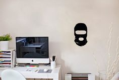 Wall Vinyl Decal Sticker Art Design Military Mask Room Nice Picture Decor Hall Wall Chu874 Thumbs up decals http://www.amazon.com/dp/B00JC1IKN2/ref=cm_sw_r_pi_dp_WK91tb14KXZGSG0W