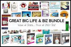 Get amazing services and products while helping a friend! Big Life, Big Biz Bundle is for solopreneurs who want to succeed while doing good!
