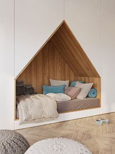 Which wood decor for the modern and natural bedroom for adults? - New decor - Which wood decor for the modern and natural bedroom for adults? Modern Kids Bedroom, Kids Bedroom Designs, Stylish Bedroom, Modern Bedroom Design, Kids Room Design, Interior Design Living Room, Design Interiors, Shared Bedroom Kids, Shared Bedrooms