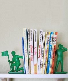 This Toy Soldier Bookend Set is perfect! #zulilyfinds