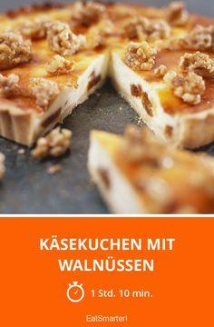 Käsekuchen mit Walnüssen - smarter - Zeit: 1 Std. 10 Min. | eatsmarter.de