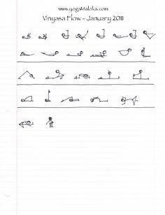Vinyasa Sequence January | Yoga Maloka