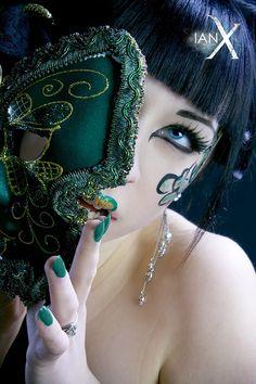 Jade Empress of Masks - III by IanStruckhoff.deviantart.com on @deviantART