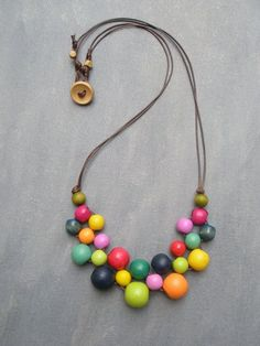 3 of My Favorite Bib necklace - Beads and Accessories