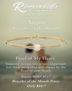 Ronaldo's Bracelet of the Month for August! www.aperfectpresent.com Ronaldo Bracelet, Designer Jewelry, Jewelry Design, Bangles, Bracelets, Gold Rings, Handmade Jewelry, Wire, Rose Gold