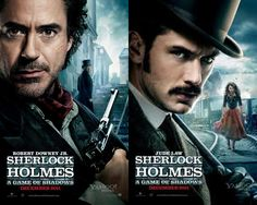 Sherlock Holmes: A Game Of Shadows..... hmmmm one more that gets better with age. And the movie looks great too!