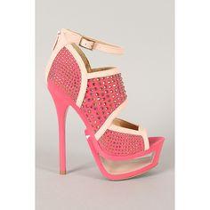 Pink Escada Rhinestones