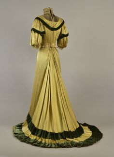 Dress ca. 1906  From Whitaker Auctions