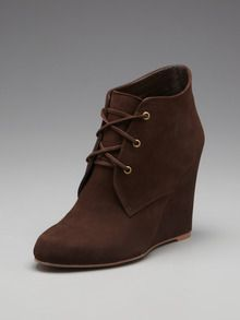 Wedge Bootie by Candela at Gilt...If I could get a bootie with this type of wedge UMPH.