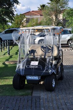 Golf Cart Decorating Ideas Lovely Gator 6 Wheeler Decor All Things Halloween. Golf Halloween, Halloween Porch, Halloween 2014, Disney Halloween, Holidays Halloween, Halloween Decorations, Halloween Tricks, Happy Halloween, Neighborhood Party