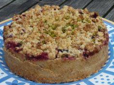 Zwetschgen-Ricotta-Kuchen: runde Form, 18 cm