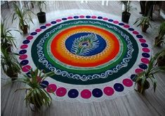 latest Simple Rangoli Designs Images Photos for Diwali 2018 ~ Happy Diwali Images Wishes 2018 Best Rangoli Design, Indian Rangoli Designs, Simple Rangoli Designs Images, Rangoli Designs Latest, Free Hand Rangoli Design, Colorful Rangoli Designs, Beautiful Rangoli Designs, Kolam Designs, Latest Rangoli