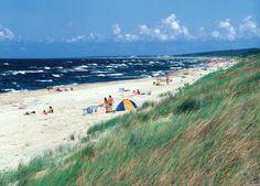Plaża w Piaskach (Beach in Piaski, Baltic Sea, Poland)