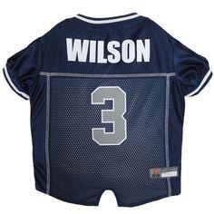 ec362d3a65a Russell Wilson Dog Jersey  3 Seattle Seahawks NFLPA Pet Apparel XS-XL   PetsFirst